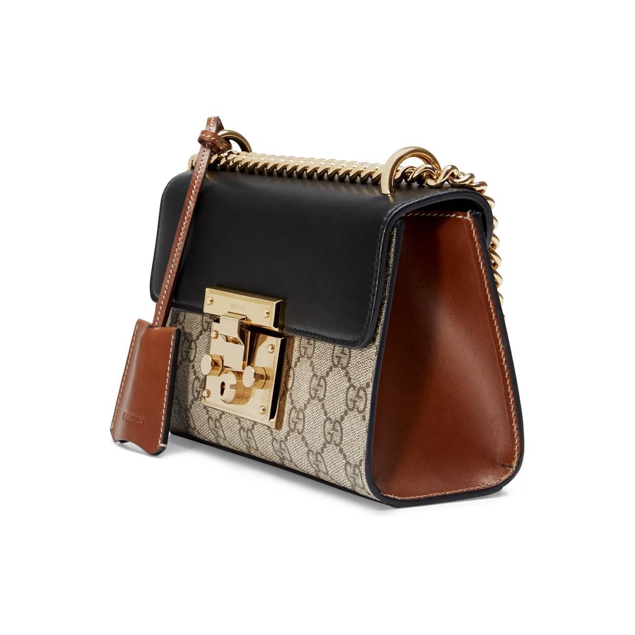 252b1f1631c Gucci - Multicolor Padlock Small GG Shoulder Bag - Lyst. View fullscreen