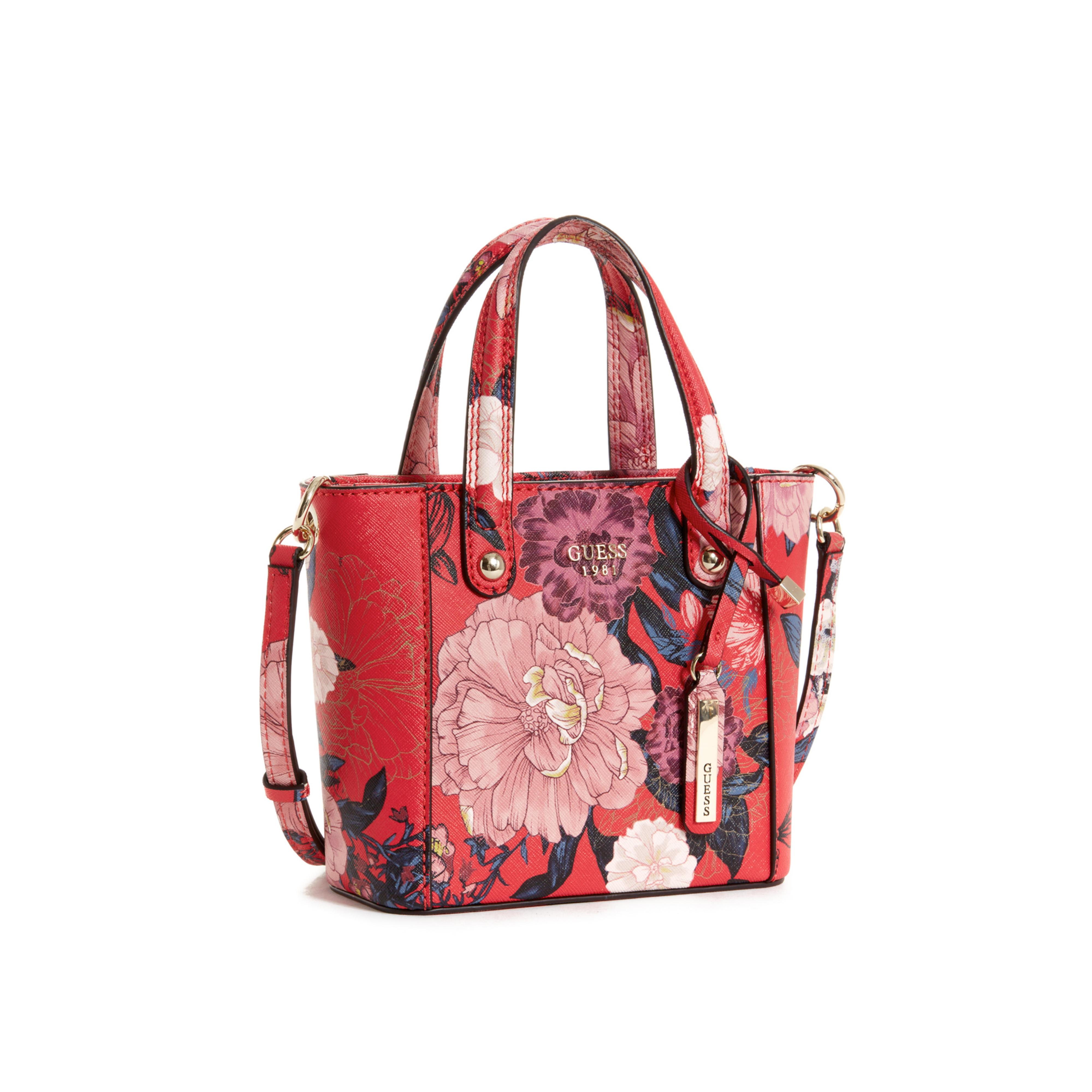 Guess Tote Bags Red - Style Guru Fashion Glitz Glamour Style Unplugged