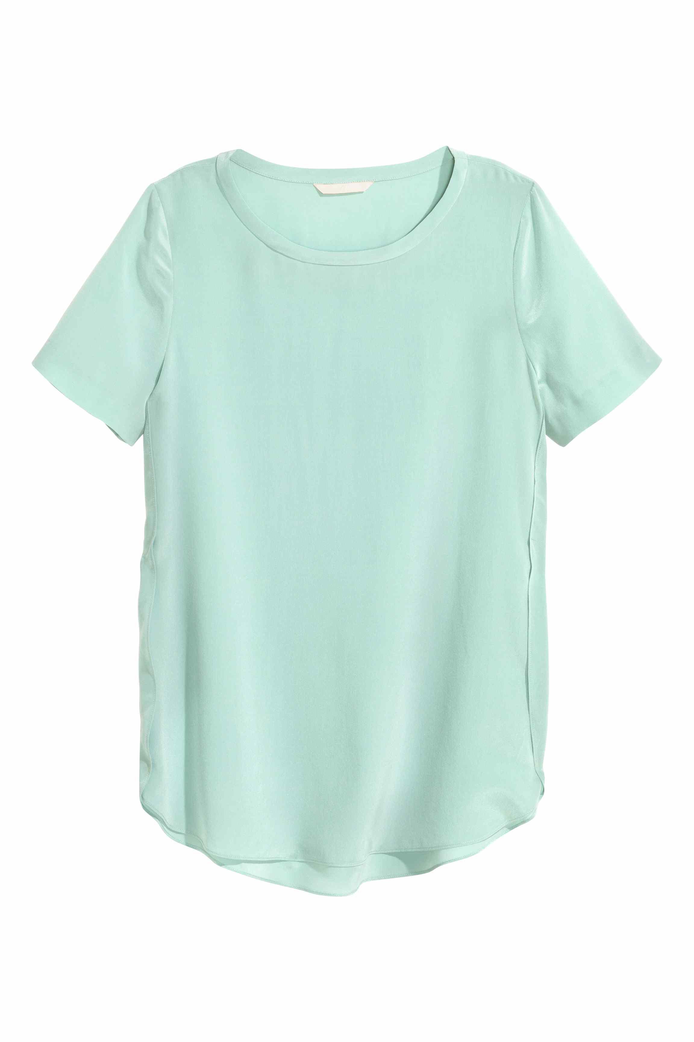 Green Blouse H&M 19