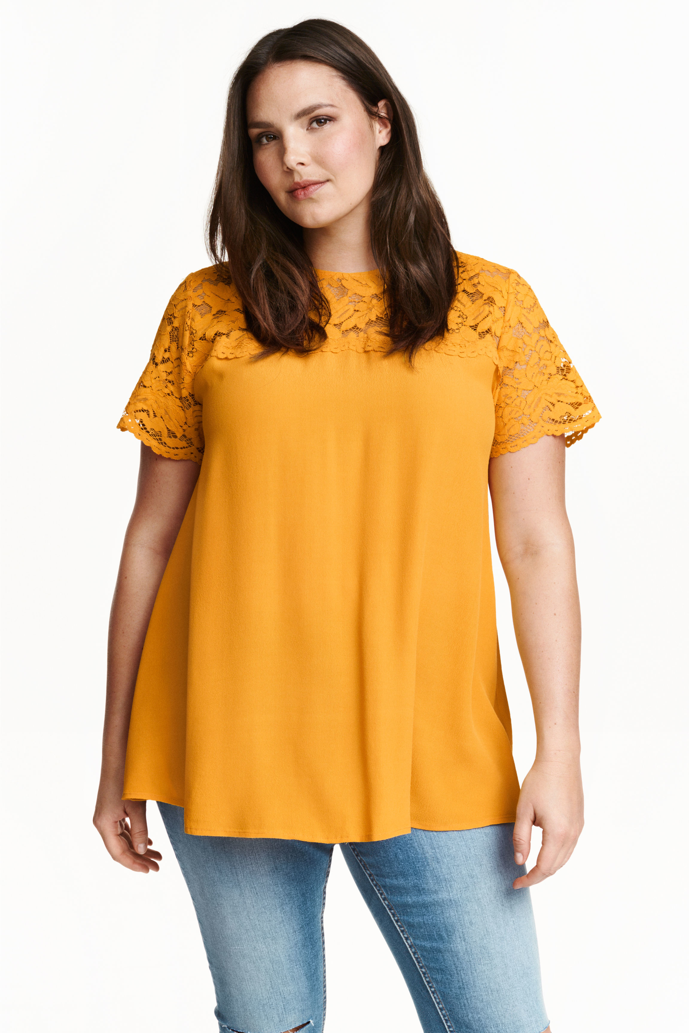 Yellow Blouse Forever 21