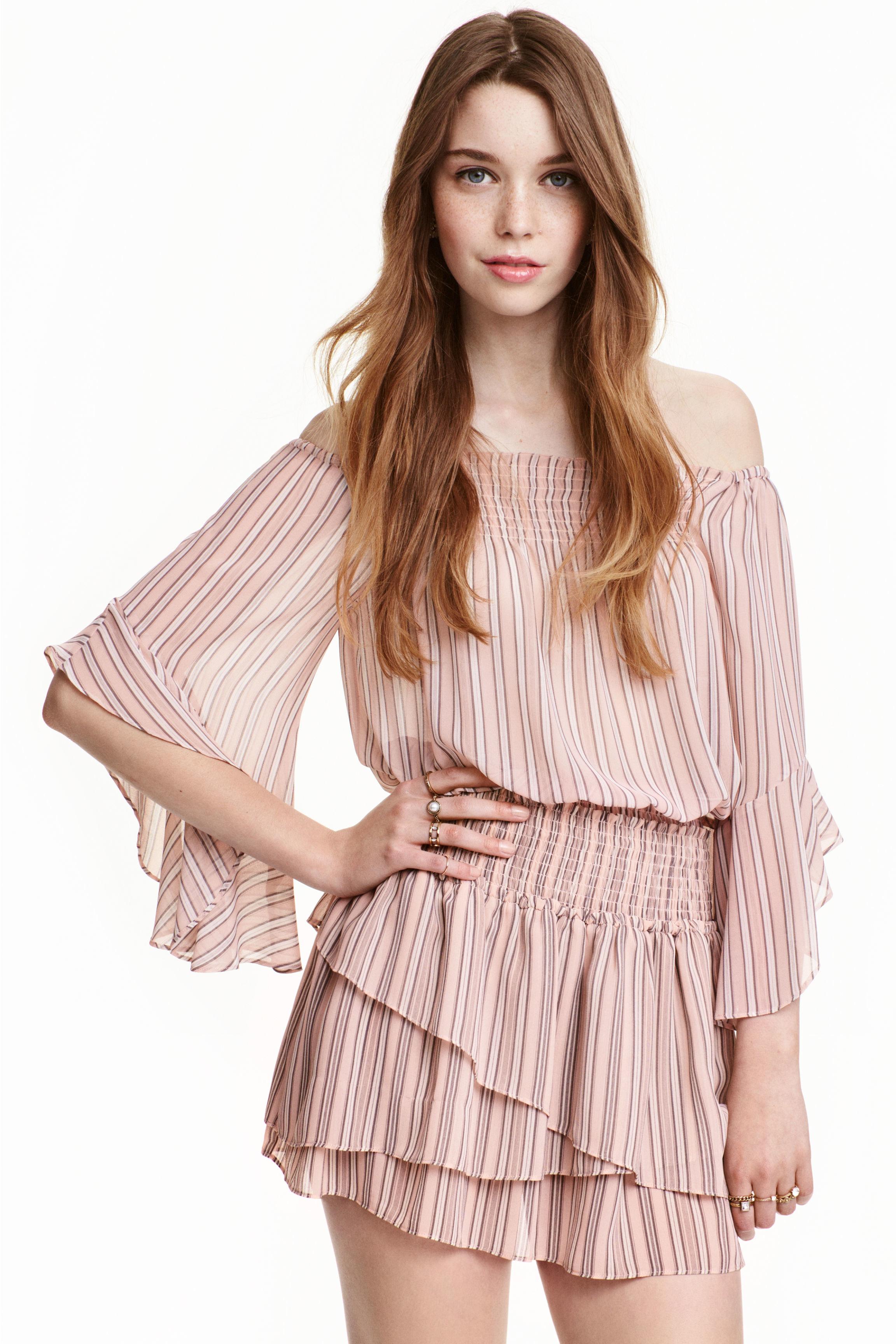 Pink Bohemian Blouse H&M 39
