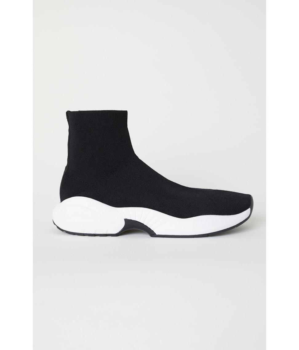 H\u0026M Synthetic Fully-fashioned Trainers