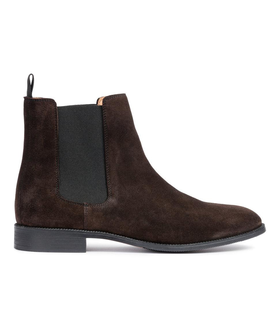 h m chelsea boots in brown lyst. Black Bedroom Furniture Sets. Home Design Ideas