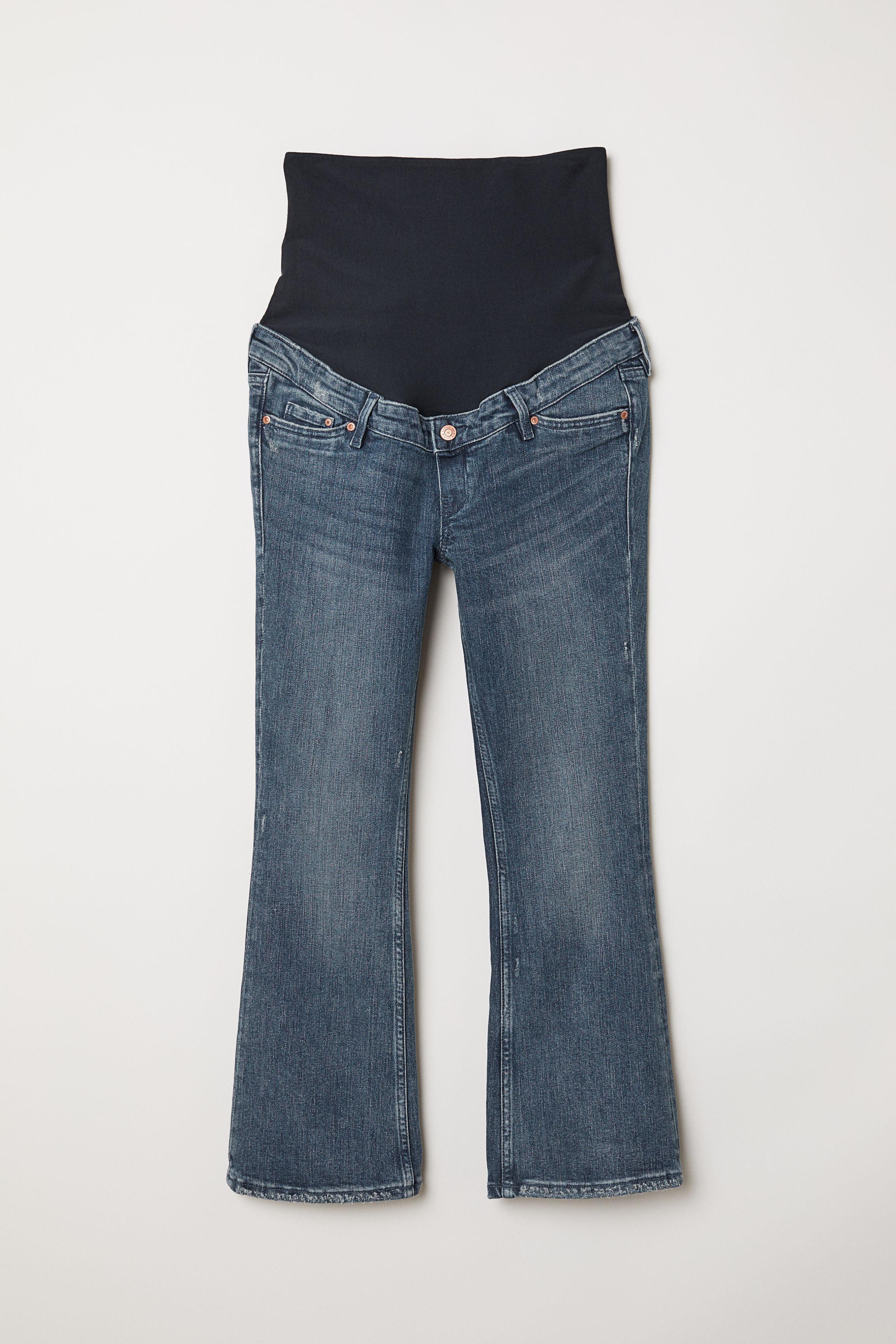 H&M Denim Mama Kick Flare Jeans in Denim Blue (Blue)