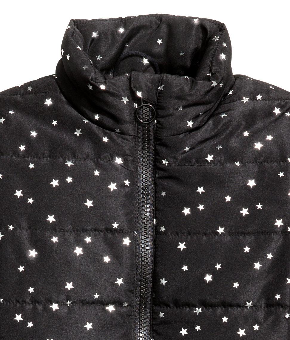 H&M Synthetic Lightweight Jacket in Black - Lyst