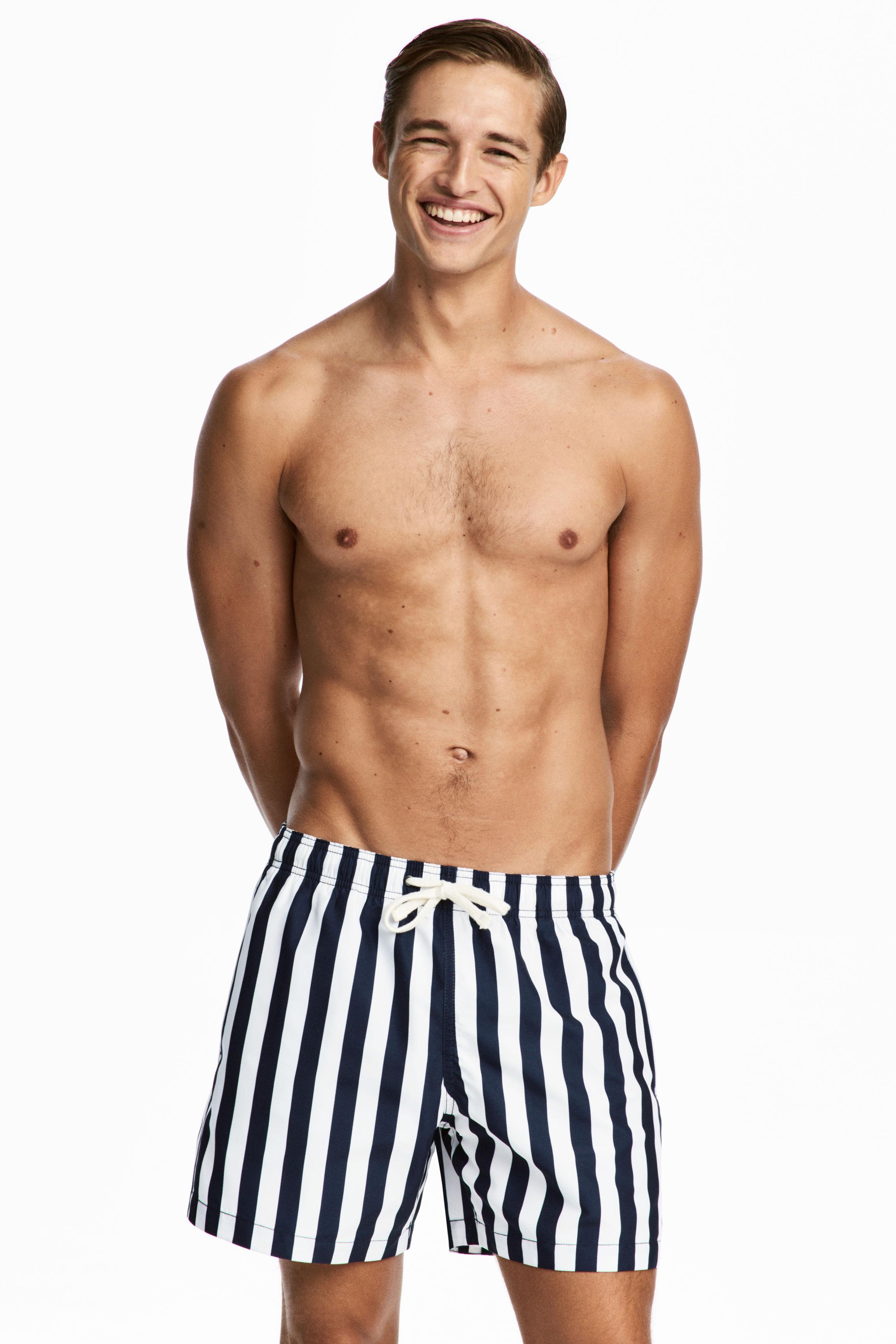 daf92d9e00 H&M Short Swim Shorts in Blue for Men - Lyst