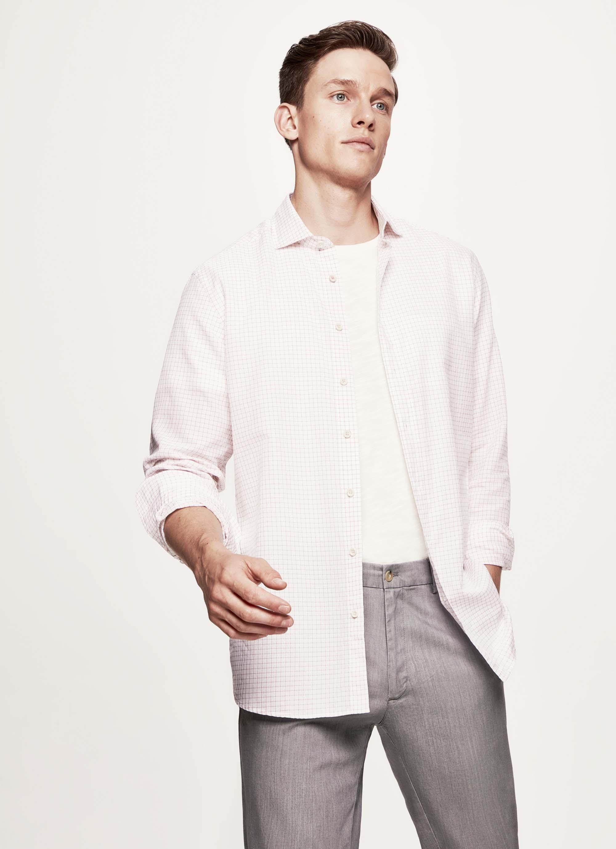 Hackett Etamine Check Cotton Shirt for Men - Lyst ae06e69d996b5