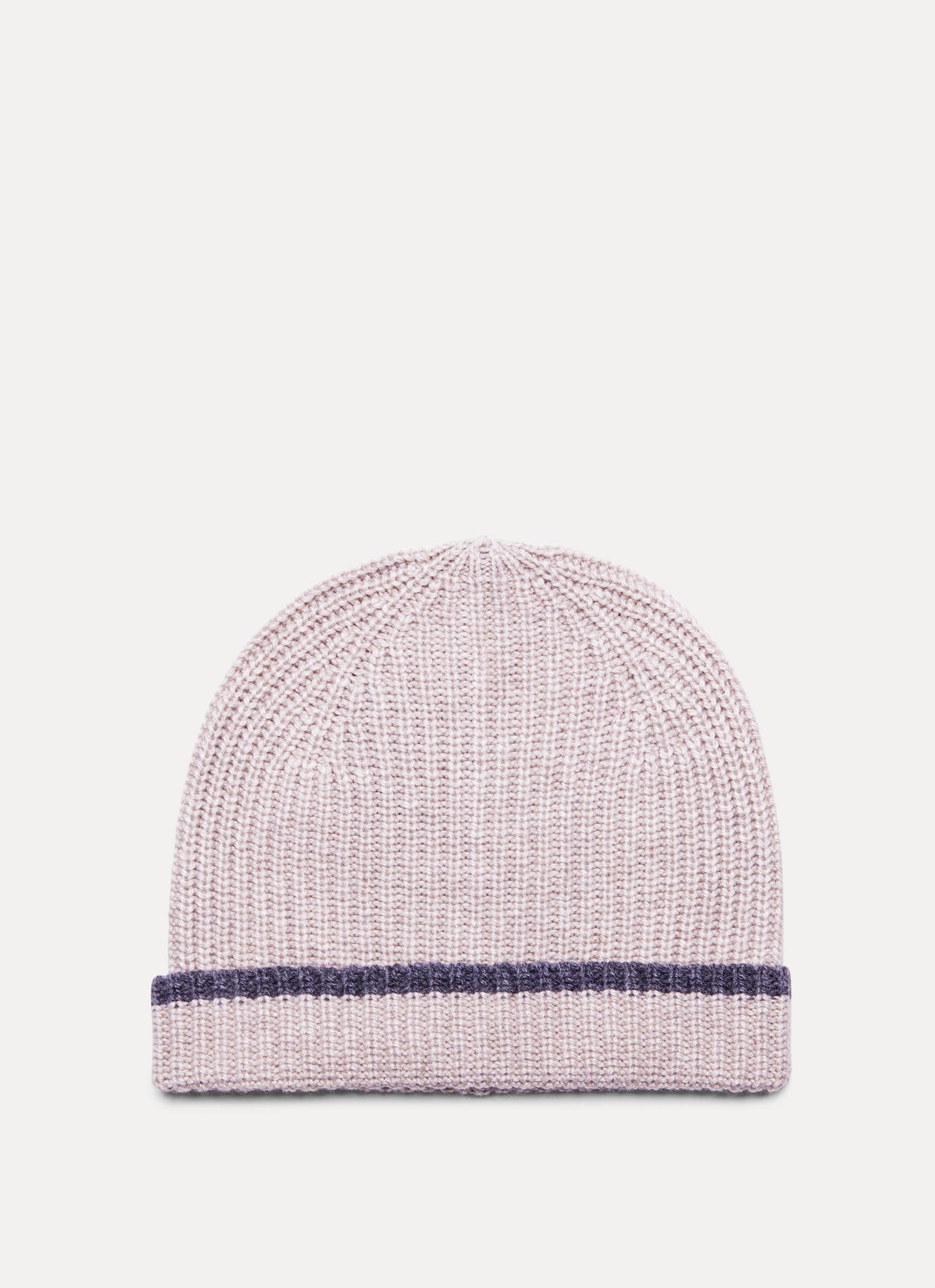 c795c3acd98 Hackett Ribbed Wool And Cashmere Blend Beanie Hat for Men - Lyst