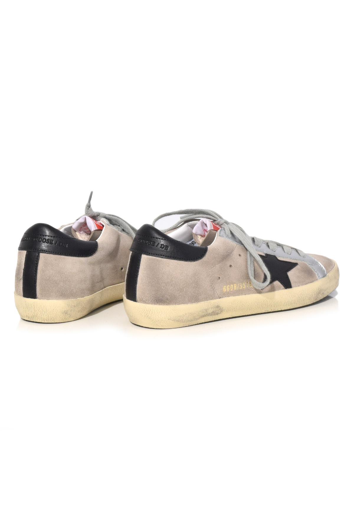 Golden Goose Deluxe Brand Superstar Sneakers In Sand Suede in Natural