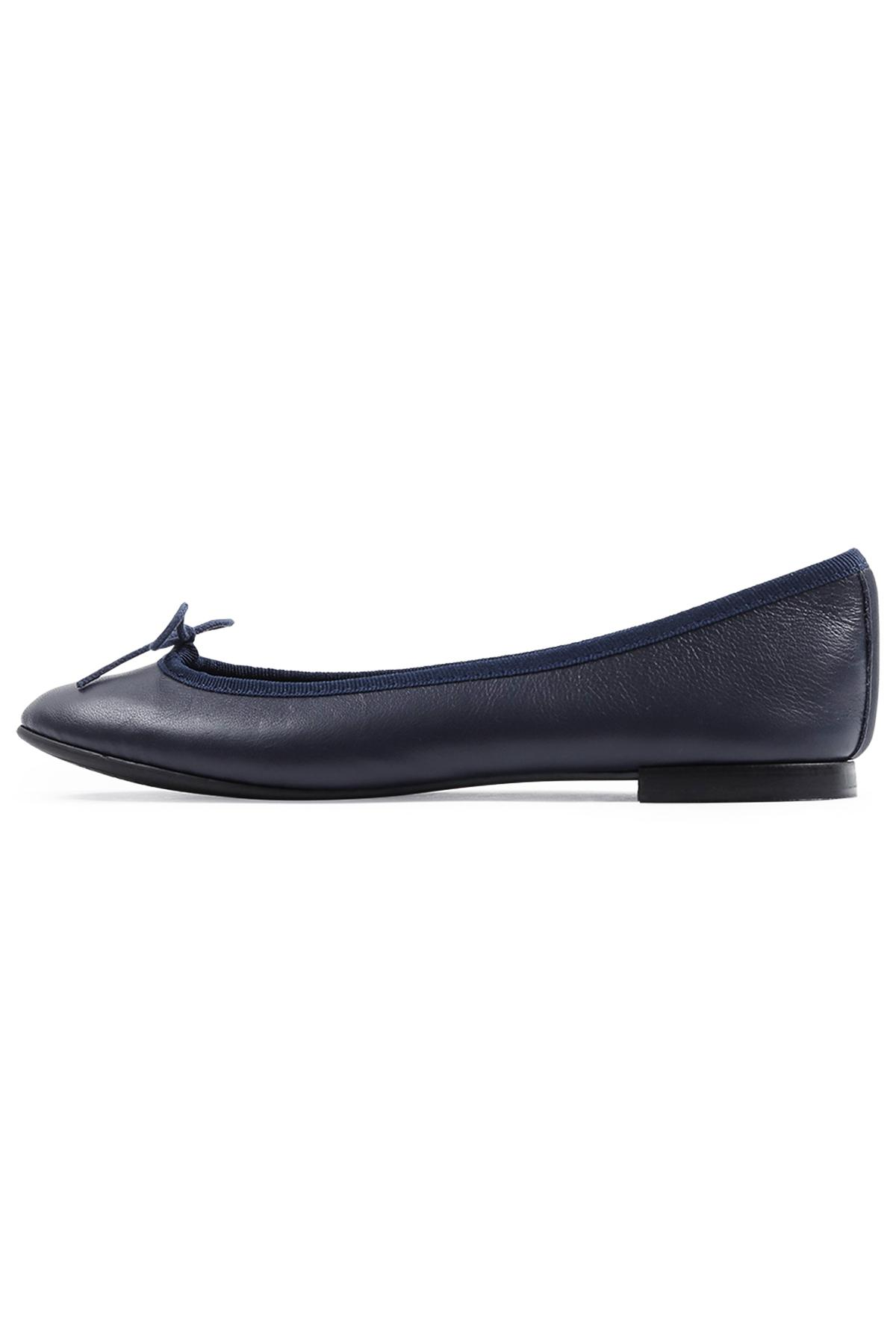 52700bad2cc Lyst - Repetto Lili Ballerina Flat In Classic Navy in Blue