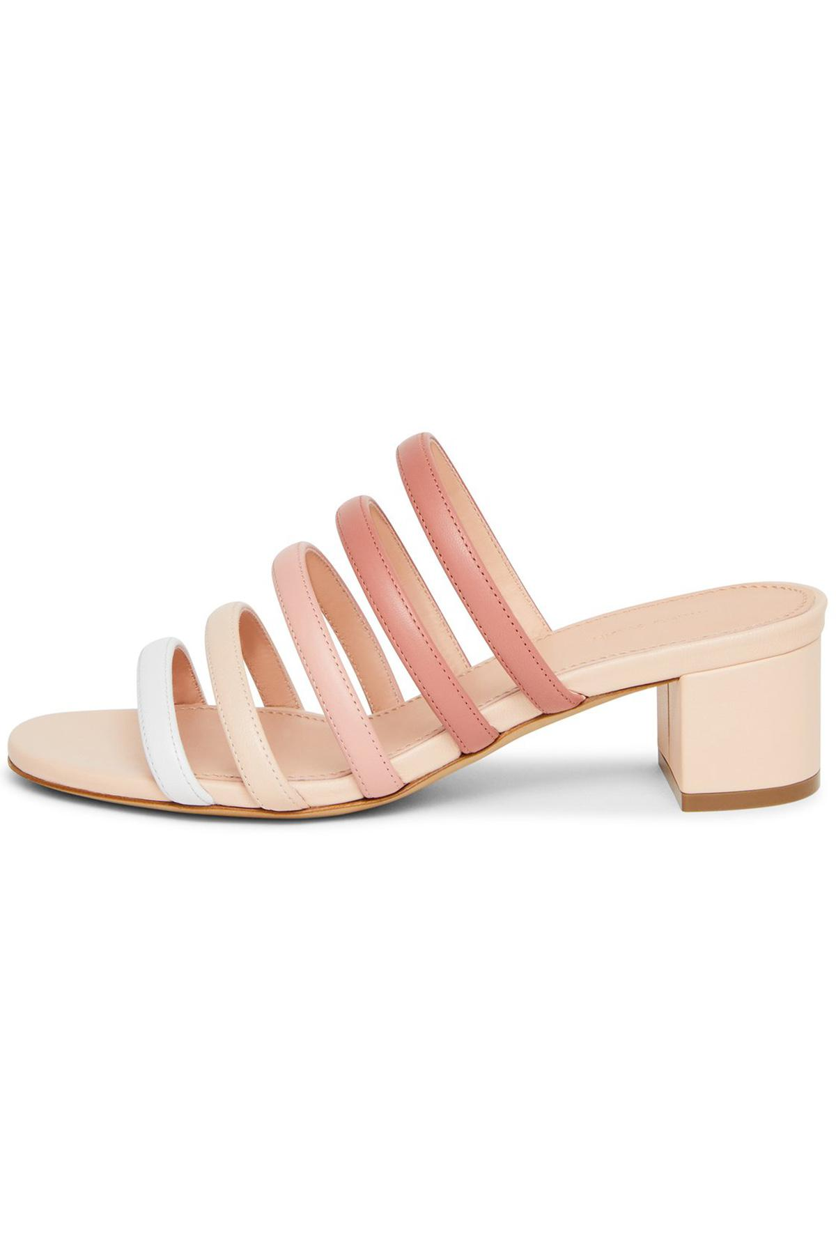 Yellow Multi Strap Sandals Mansur Gavriel Free Shipping Order cPnGBywR