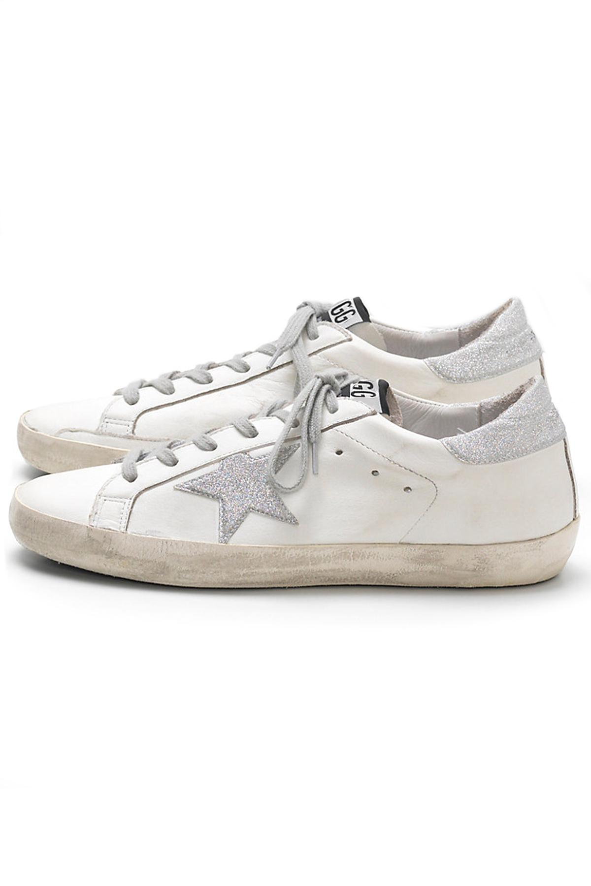 Lyst J 233 R 244 Me Dreyfuss Superstar Sneakers In White Silver