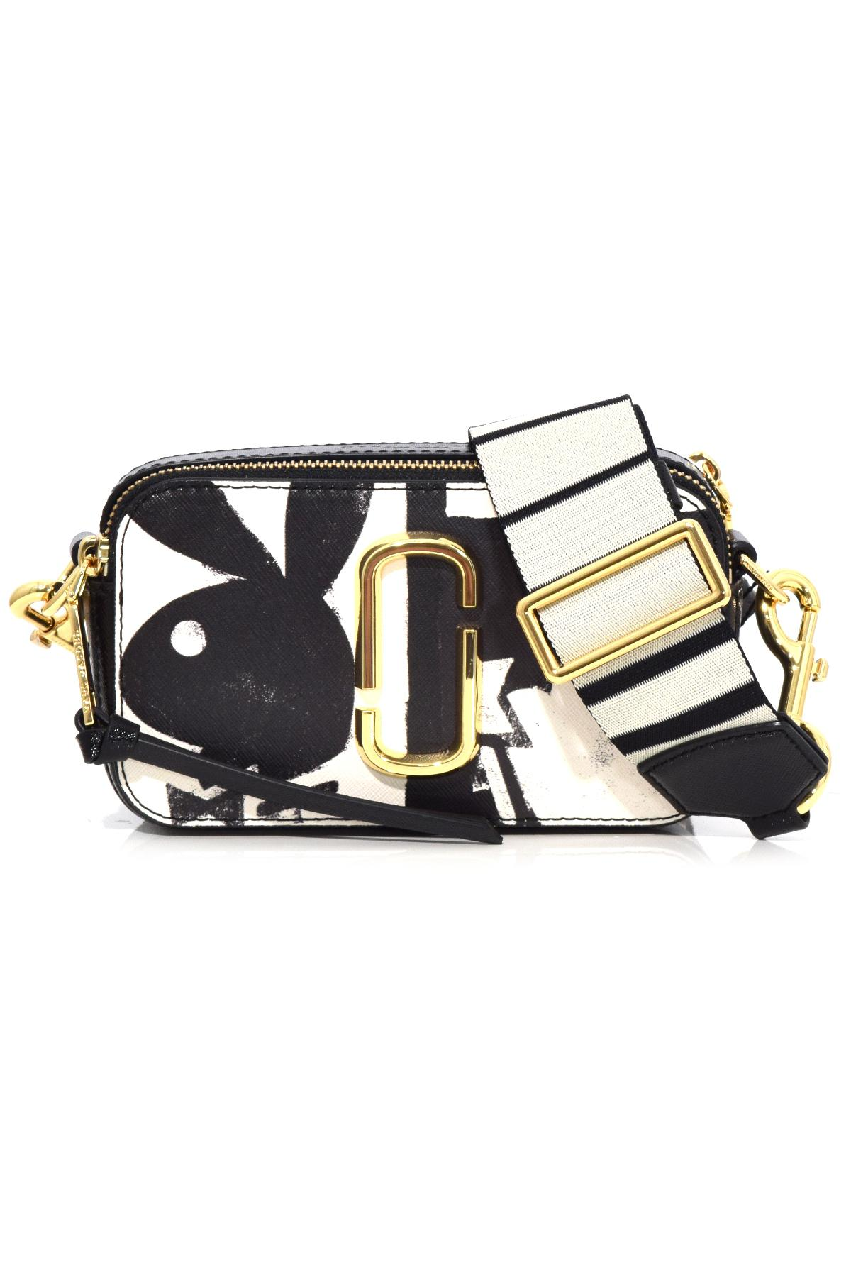 cbdfbbbc6ce Marc Jacobs Snapshot Small Playboy Bag In Black Multi in Black - Lyst