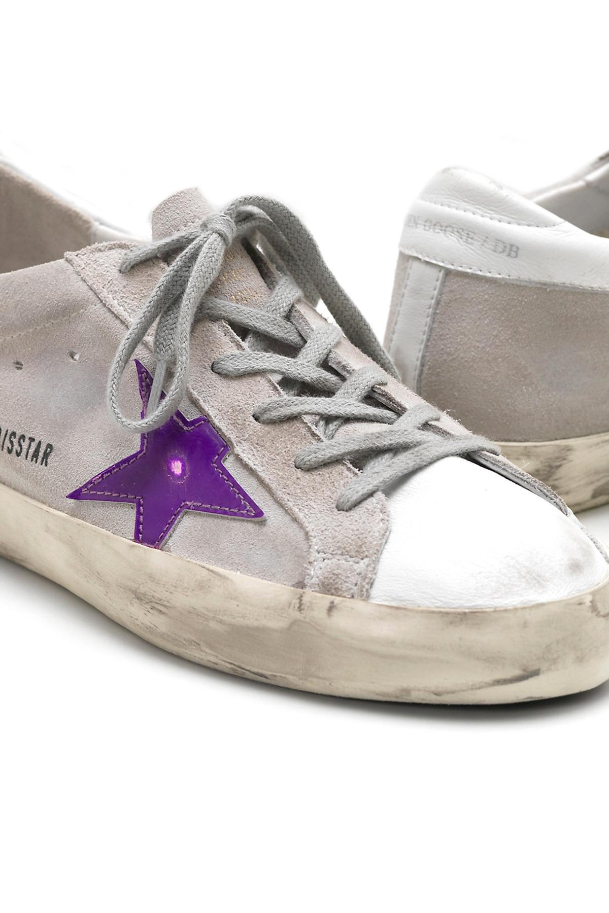 Salida 100% Garantizado Códigos De Descuento En Línea De Compras Golden Goose Deluxe Brand logo ankle boots - Rosa & Viola Comprar Barato Cómoda wcg9t