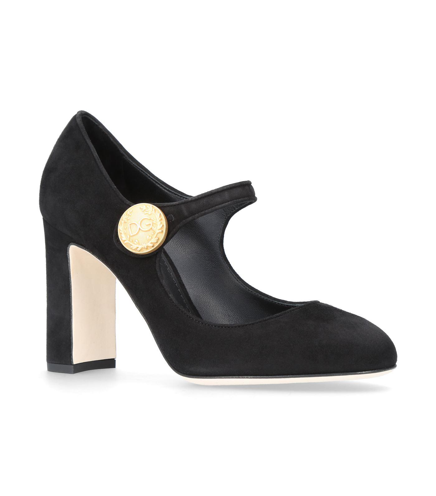 Dolce & Gabbana Pumps Mary Jane suede