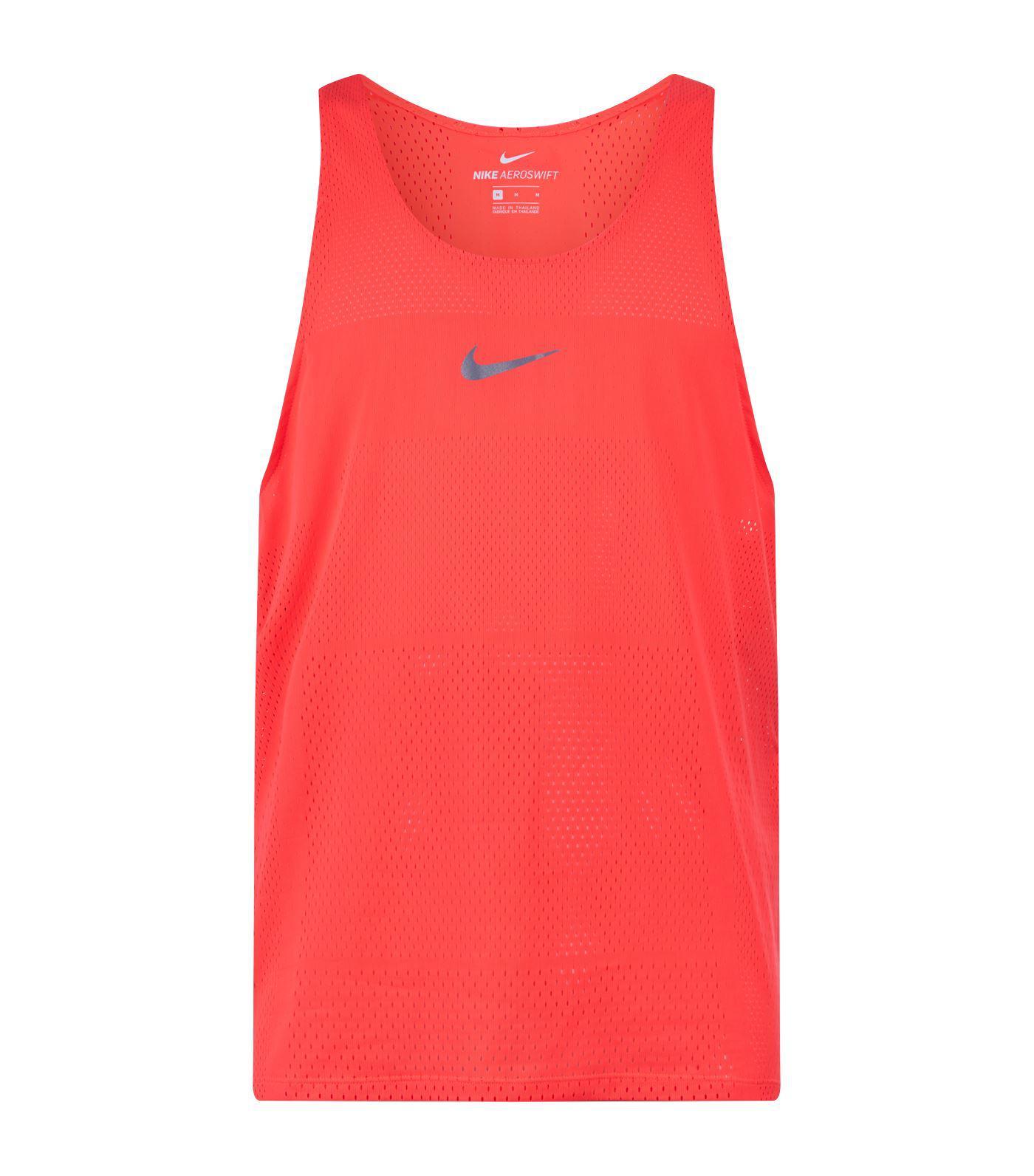 bab7ff6038c8cf Lyst - Nike Aeroswift Running Tank Top in Red for Men