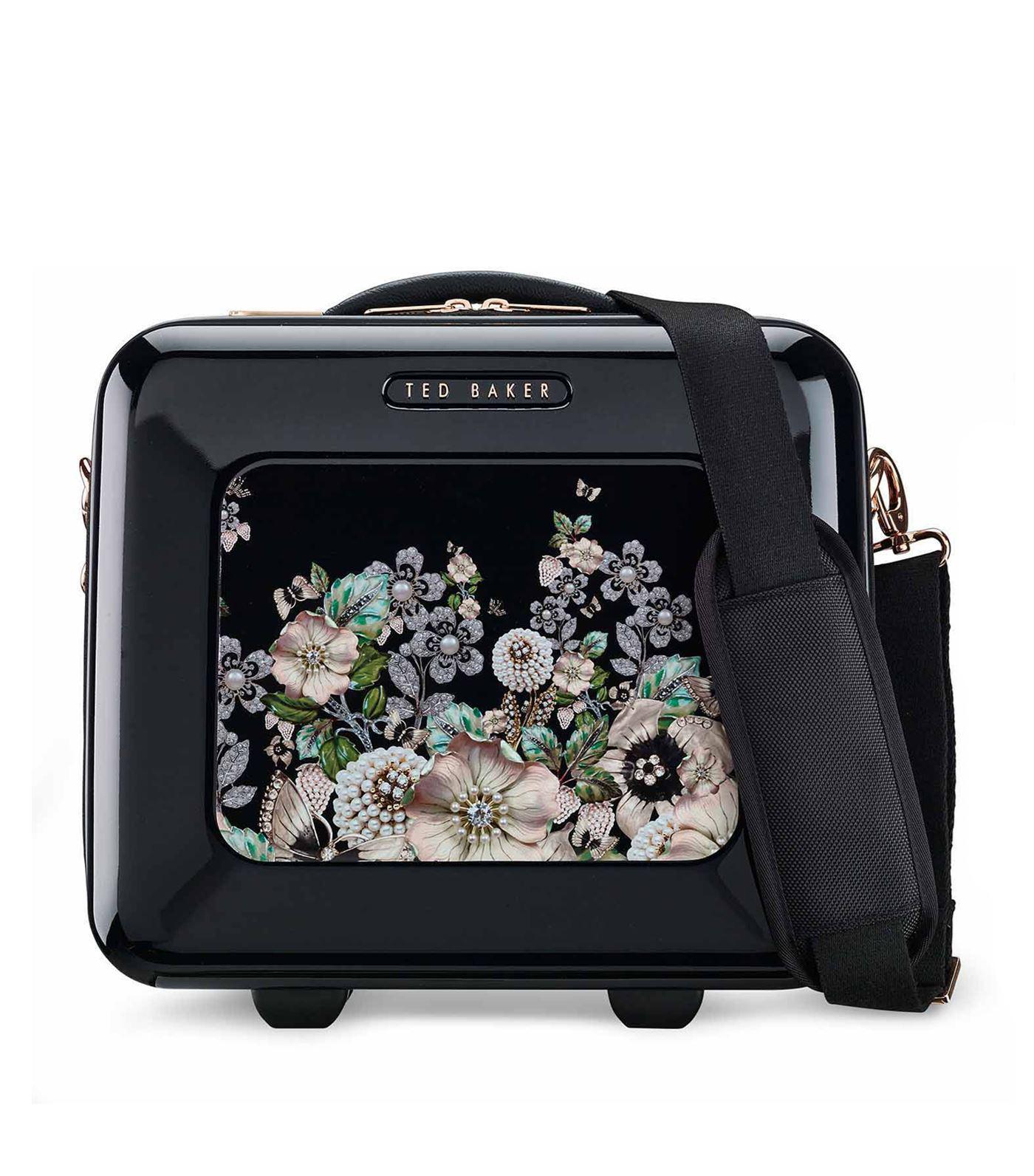 2629c7f9d Lyst - Ted Baker Gem Gardens Vanity Case in Black