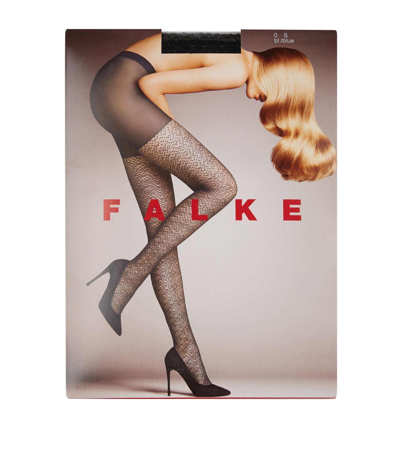 4fcd884f5b9 Falke Wild Luxe Tights in Black - Lyst