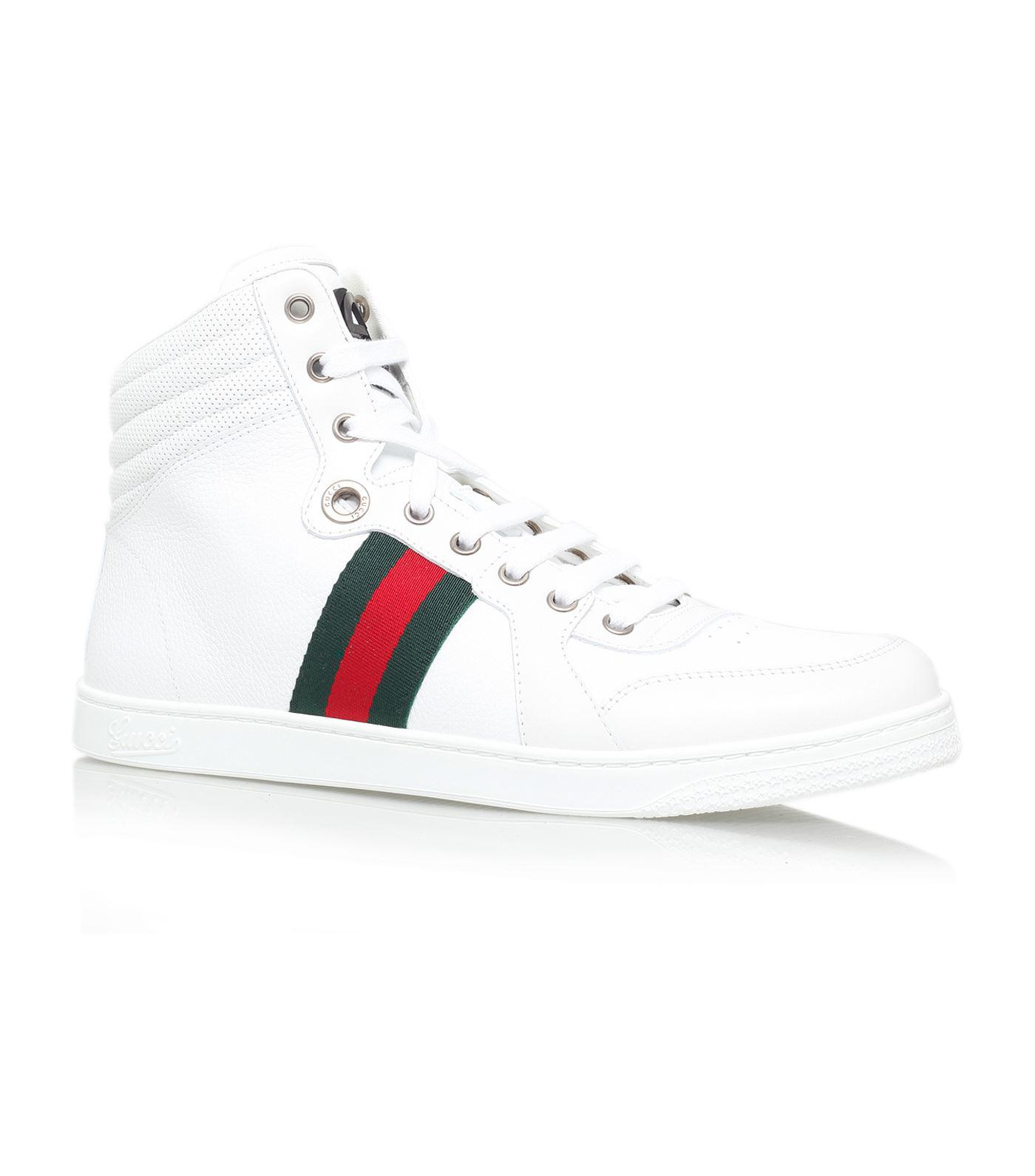 fb3c543a5 Gucci Coda High-top Sneaker in White for Men - Lyst