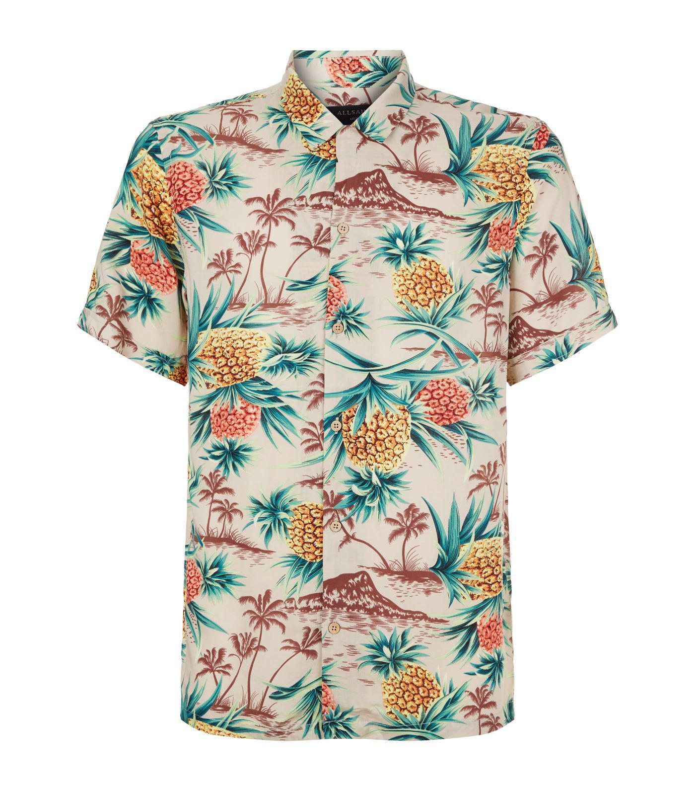 saints hawaiian shirt