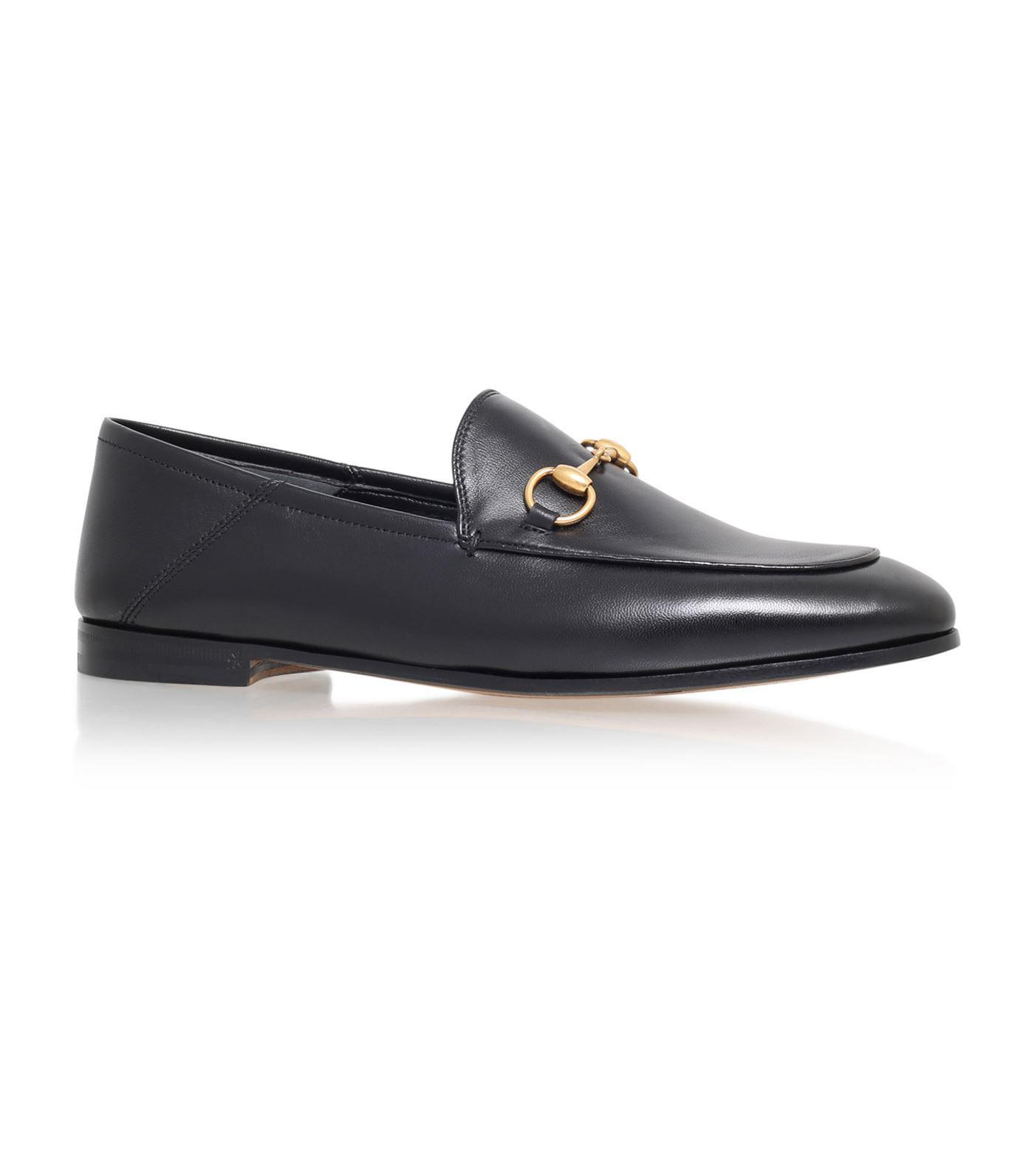 4330eaf13ef Gucci Brixton Horsebit Loafer in Black for Men - Lyst