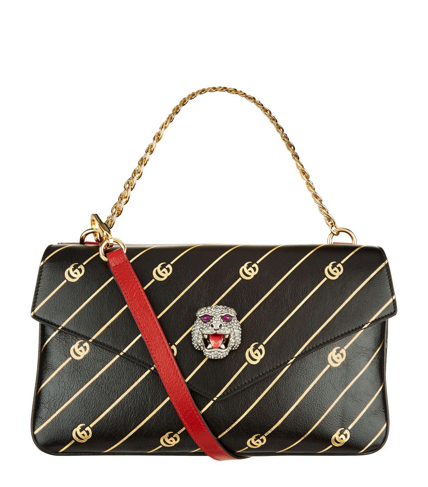 3ff711c9239b Gucci. Women's Thiara Leather Double Shoulder Bag