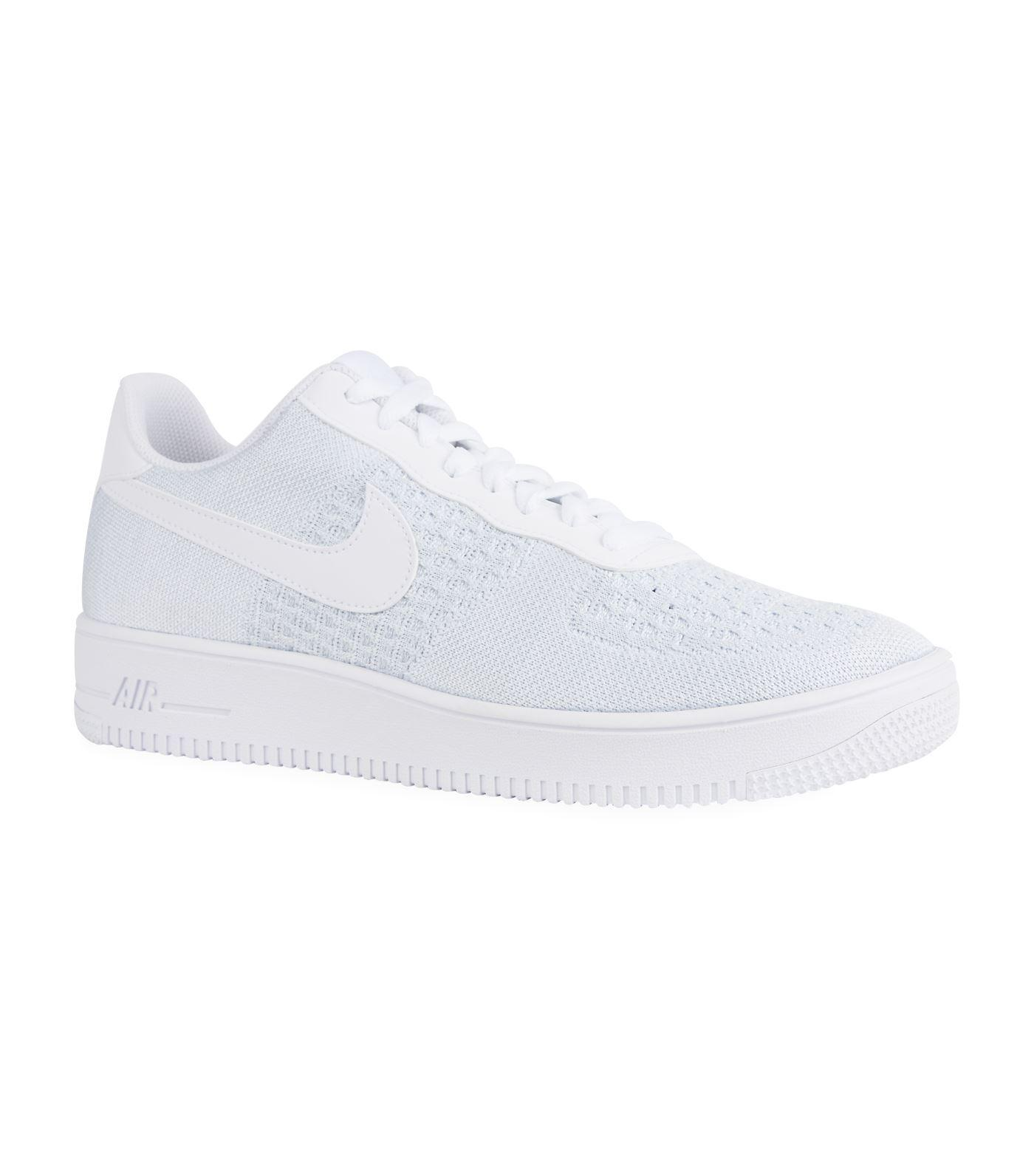 Nike Rubber Air Force 1 Flyknit 2.0 in White for Men - Lyst