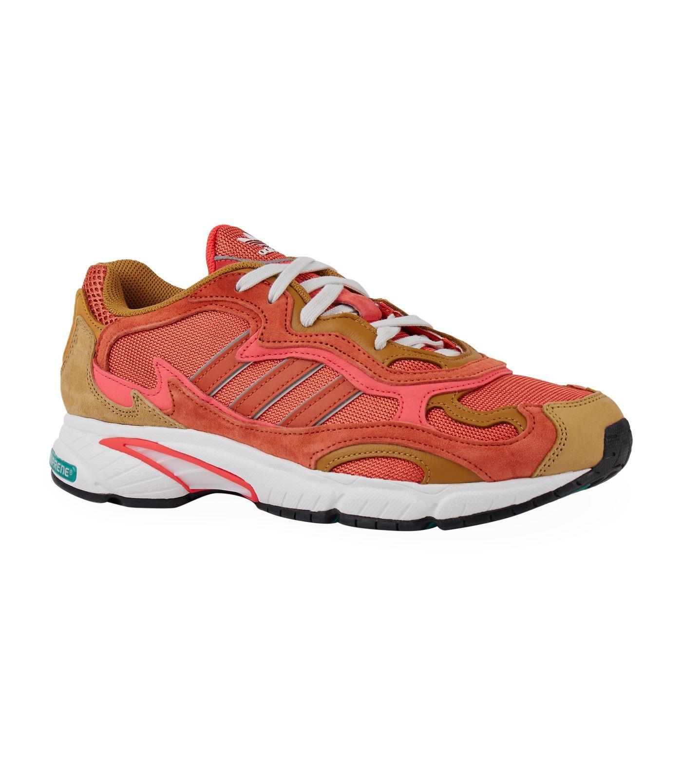 online store d2b04 33728 Adidas Originals - Orange Temper Run Sneakers for Men - Lyst. View  fullscreen