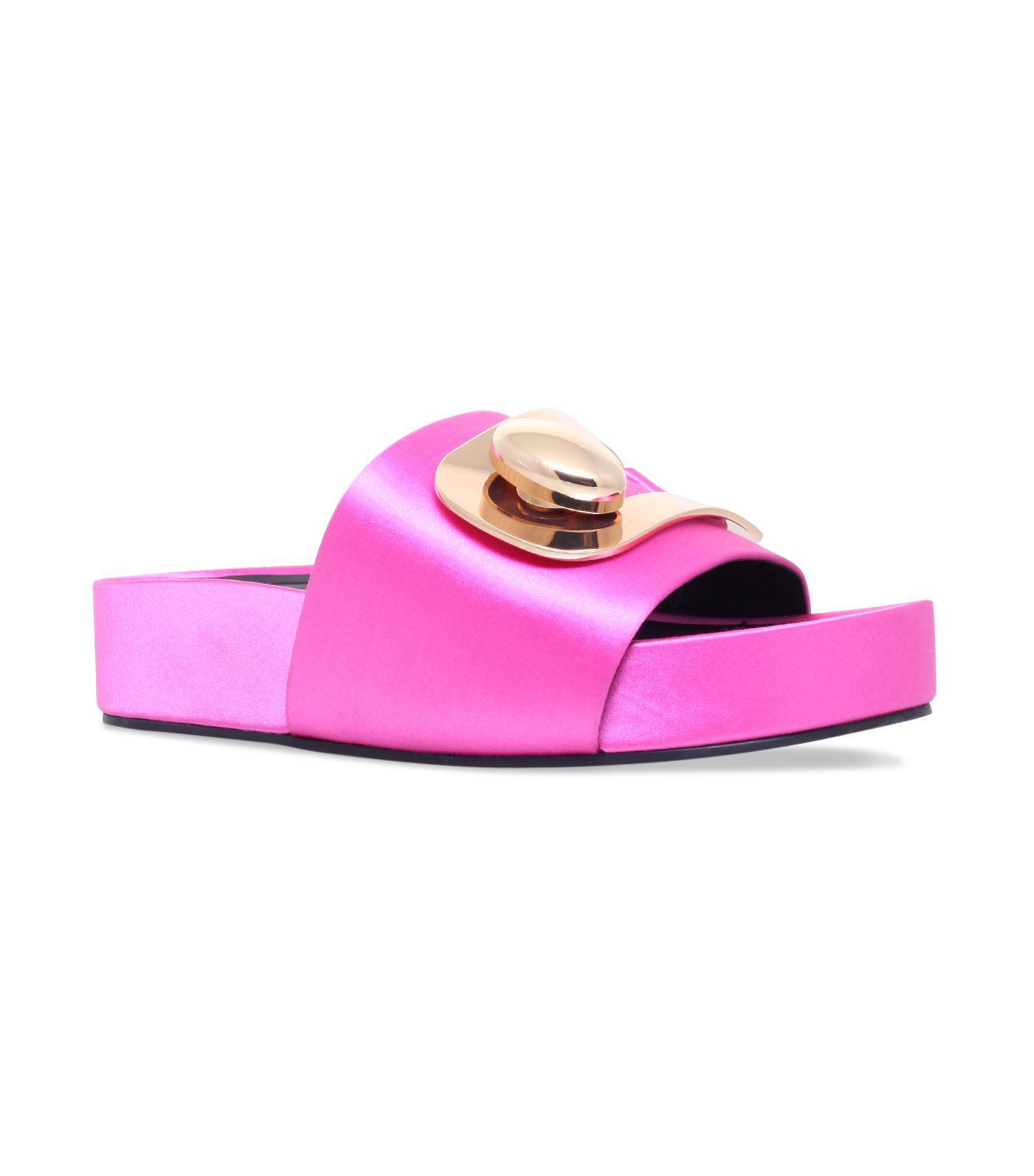 buckle platform slides - Pink & Purple Stella Luna Fd72u