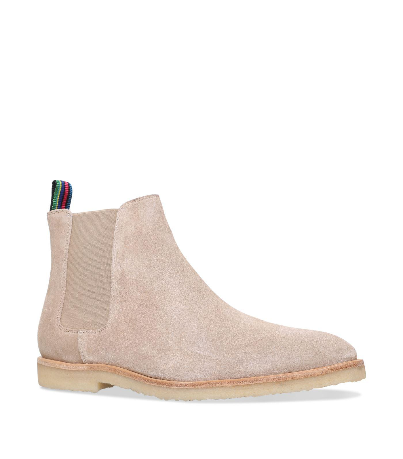 81d2709d0d1 Paul Smith Suede Andy Chelsea Boots in Brown for Men - Lyst