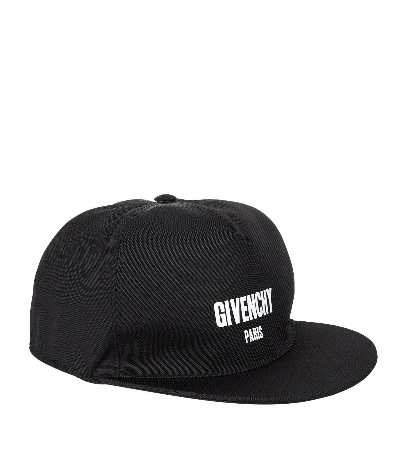 a2a4ab41c23 Lyst - Givenchy Logo Cap in Black for Men