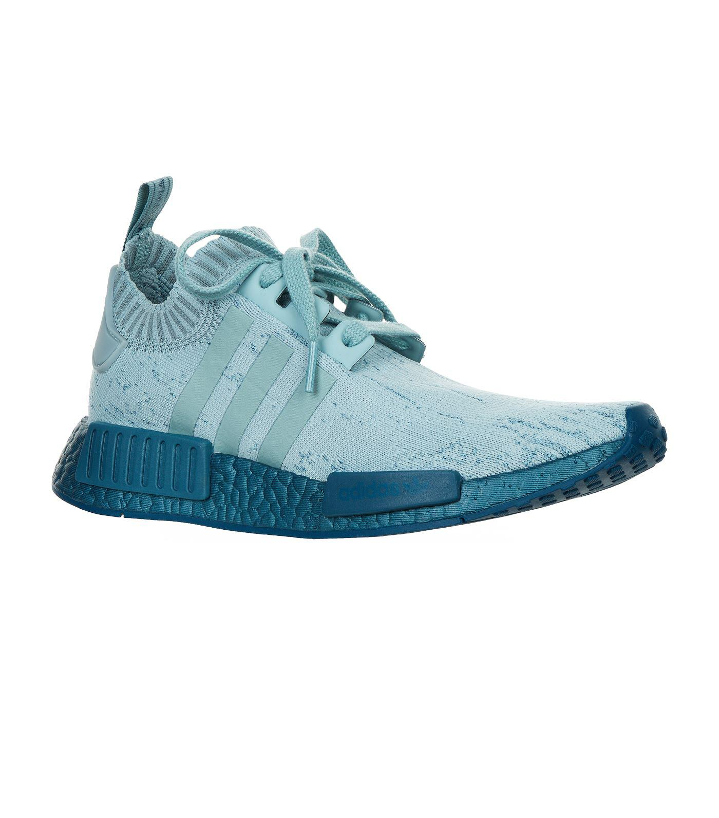 hot sale online 95af2 a3104 Lyst - adidas Originals Nmd R1 Primeknit Sneakers in Green