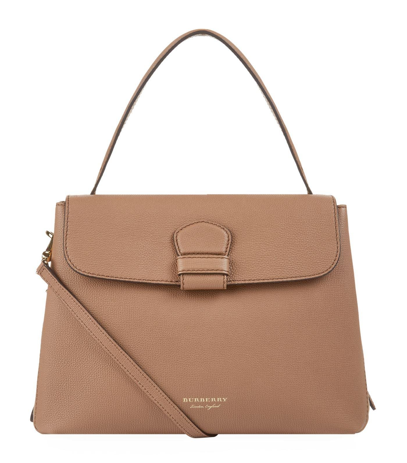 c5221005bcb2 Lyst - Burberry Medium Camberley Tote in Natural