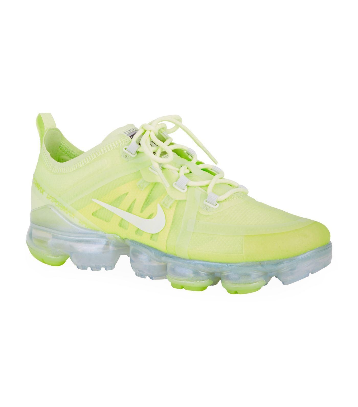 5cb0bd501feda Nike Yellow Air Vapormax 2019 Trainers