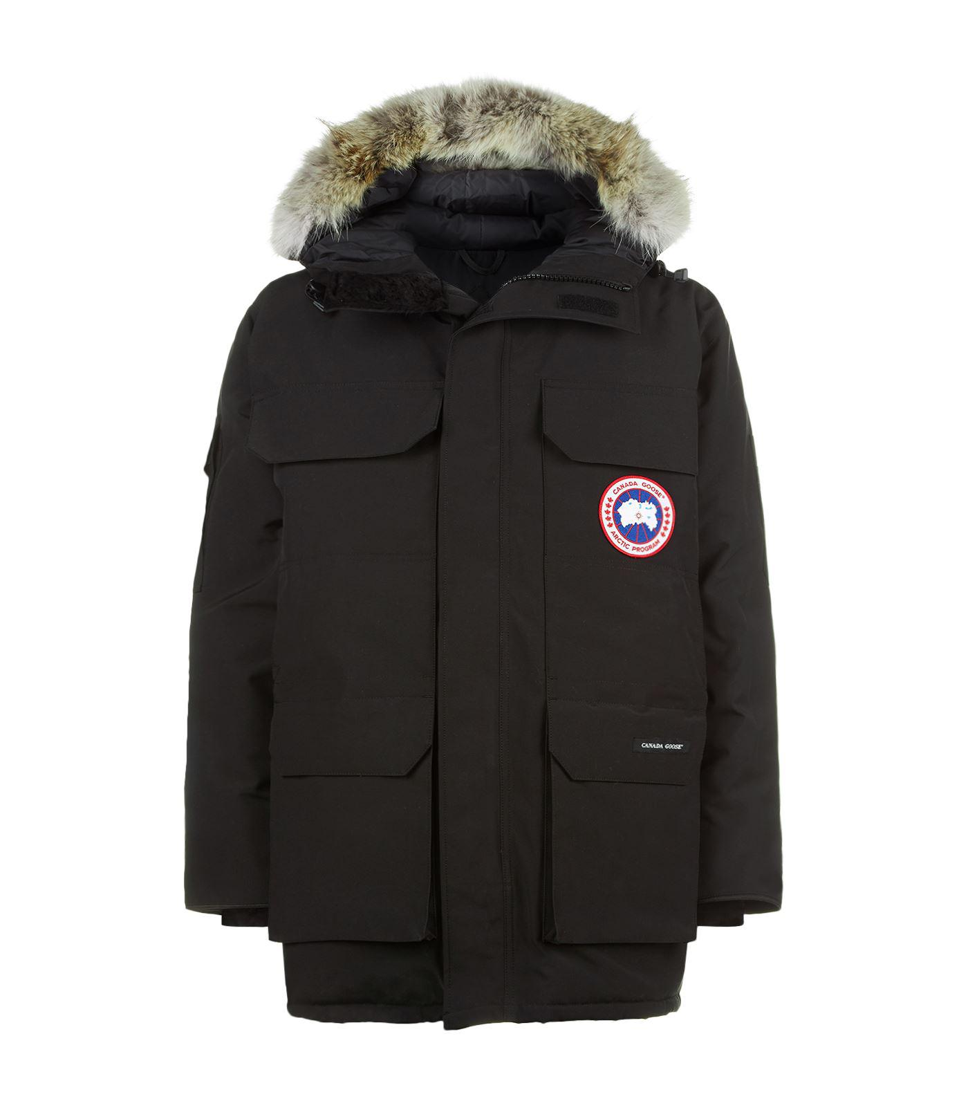 Canada Goose Goose Expedition Parka in Black for Men - Lyst