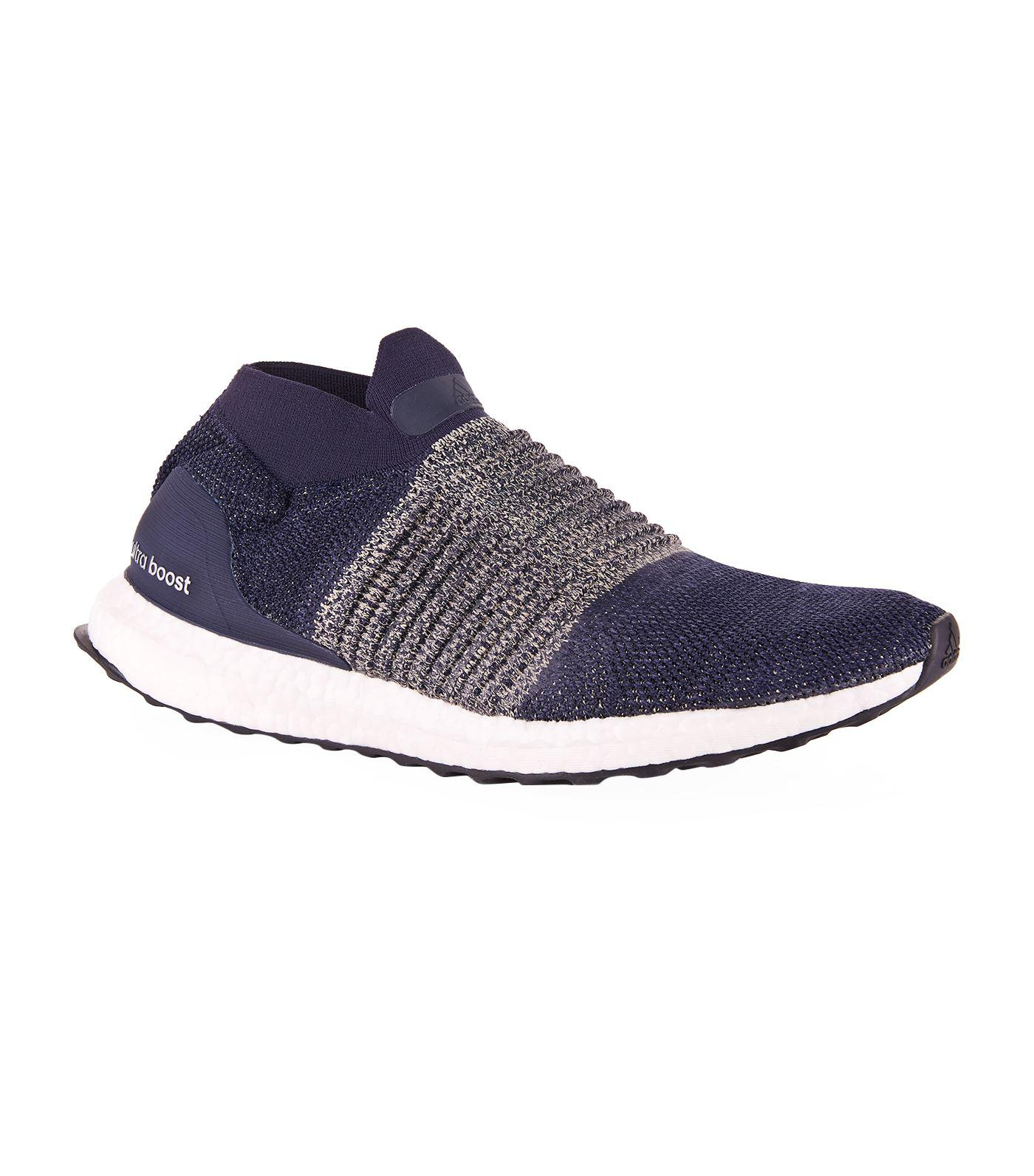 51249f971c2 Lyst - Adidas Ultraboost Laceless Trainers in Blue for Men - Save 4%