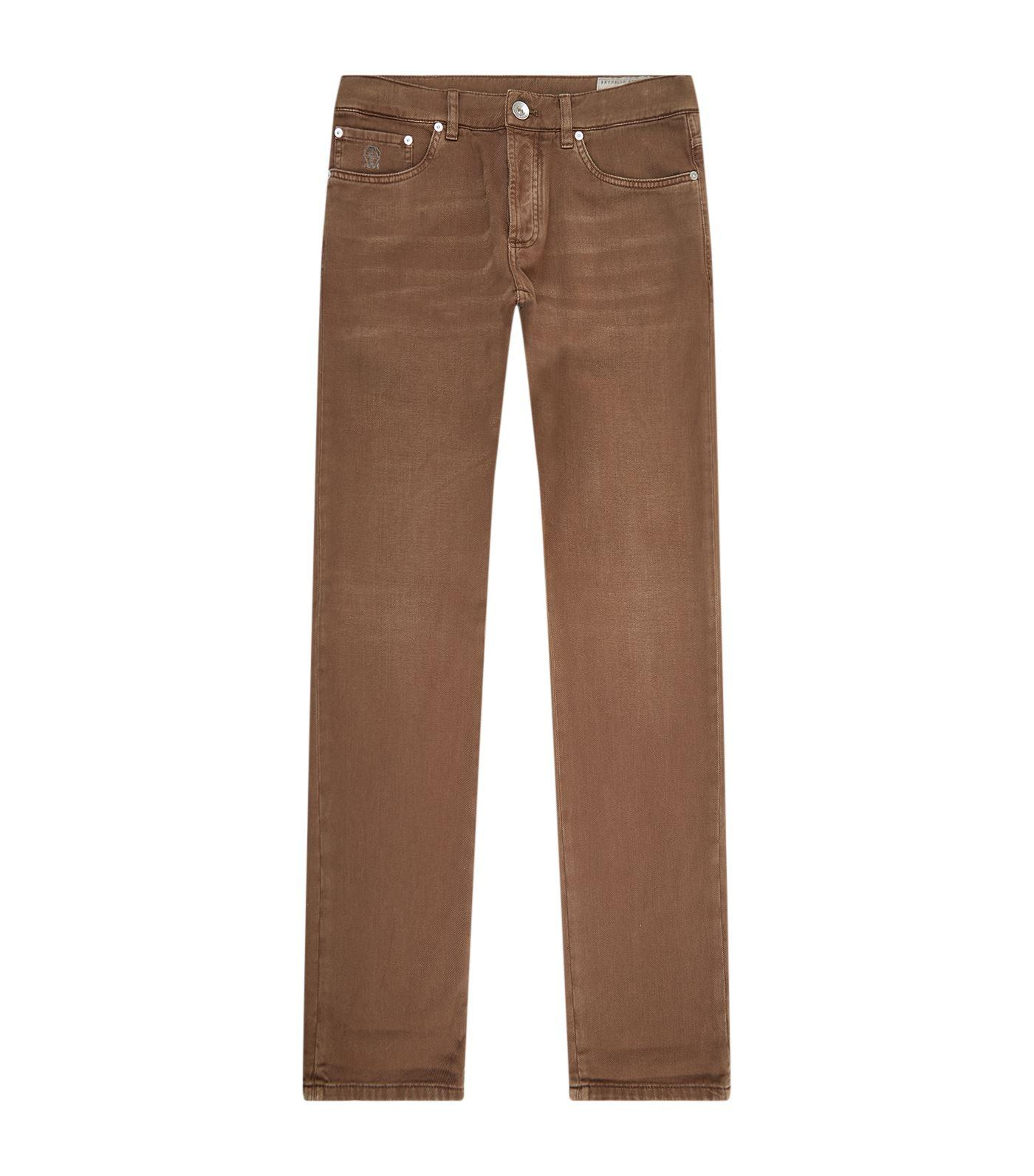 Corduroy pants Traditional Fit dark brown Brunello Cucinelli Eastbay Sale Online Wholesale Price Online For Cheap Discount Sale Sast Super Specials PeOLzVA8