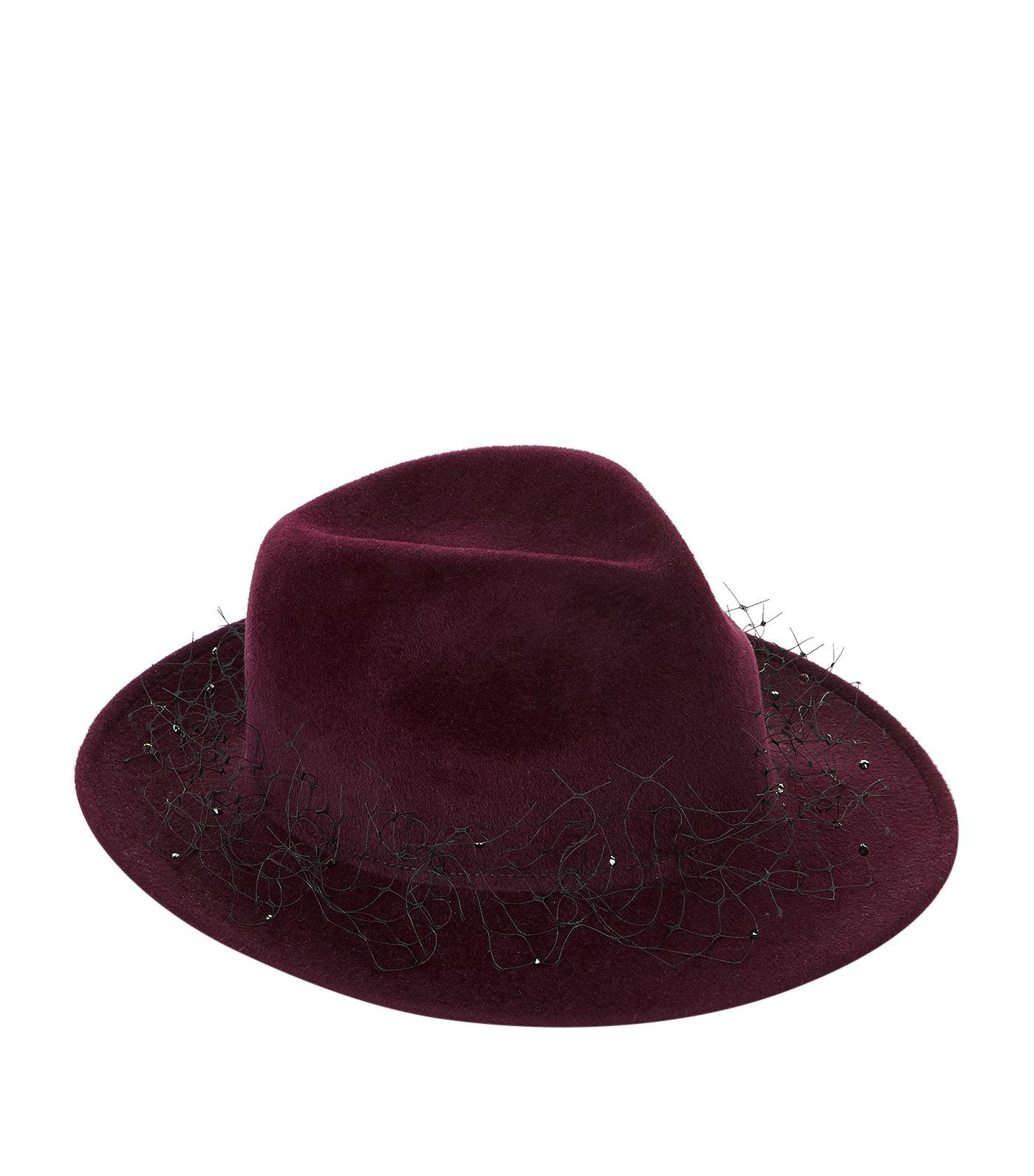 efec19d805f Gallery. Previously sold at  Harrods · Women s Trilby Hats ...