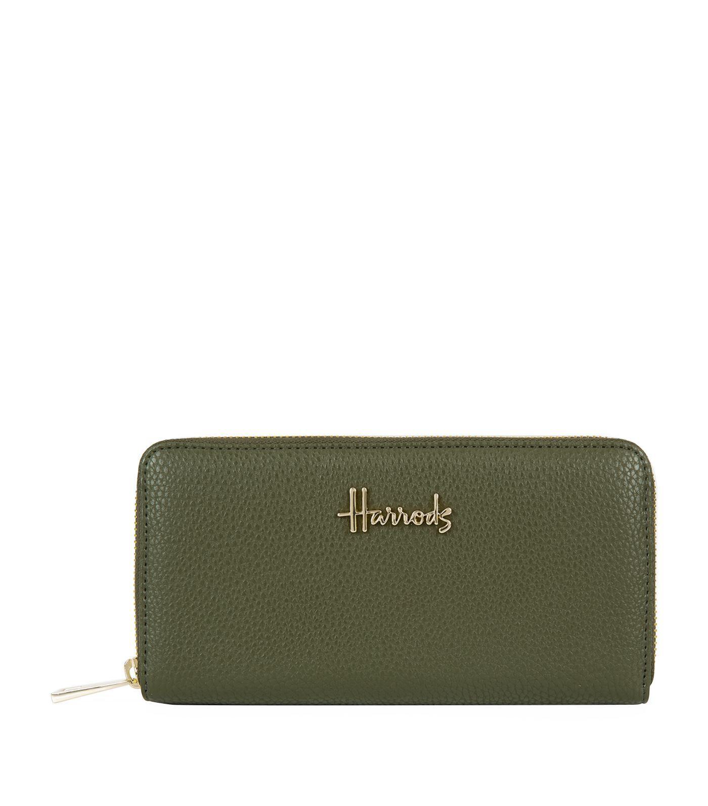 f6affb6828 Harrods Green Rylett Wallet