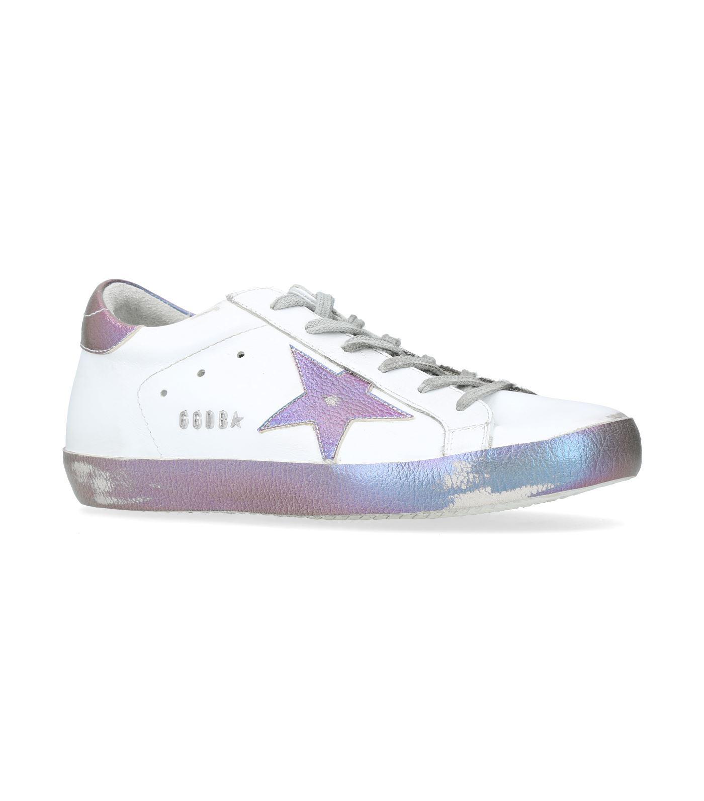 Goose Superstar Iridescent Sneakers