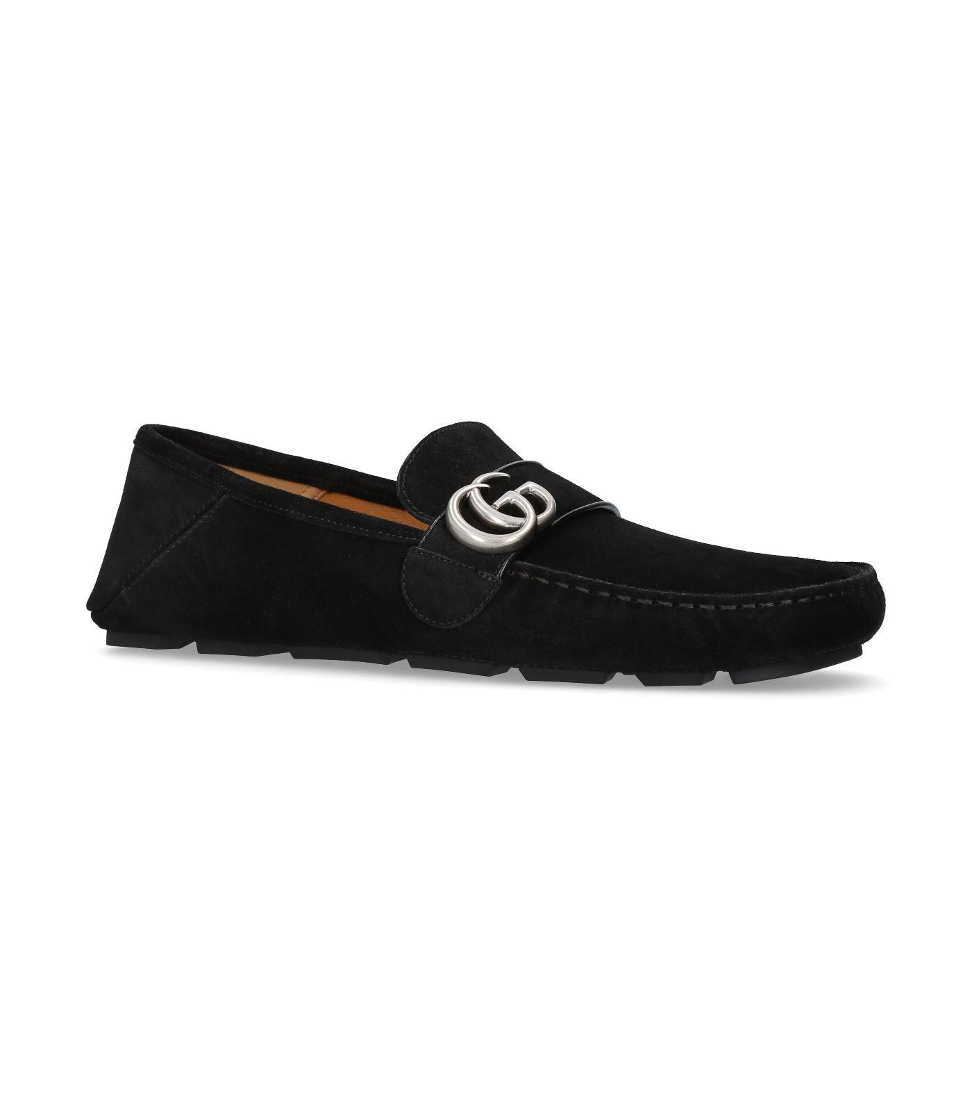 Gucci Noel Suede Driving Loafers in