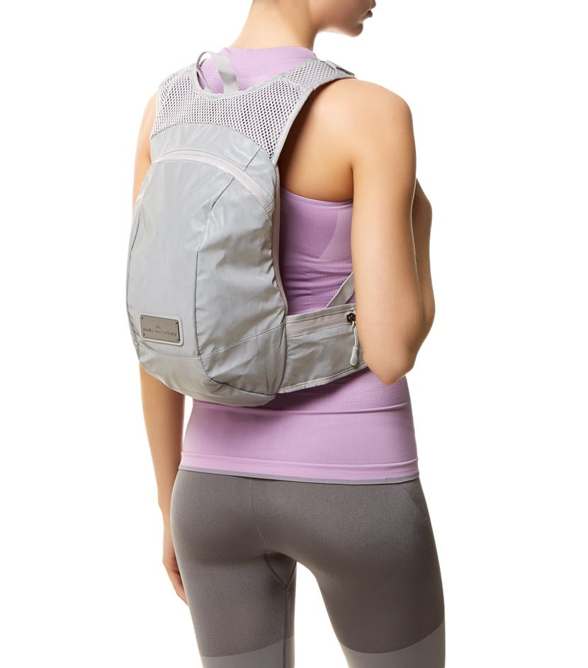 adidas By Stella McCartney Runners Backpack in Grey