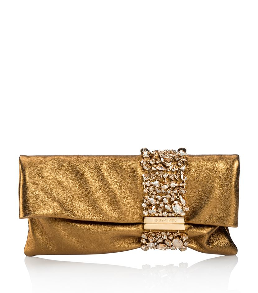 Clutch Color Lima of Jimmy Choo, Perfect to Wear with White