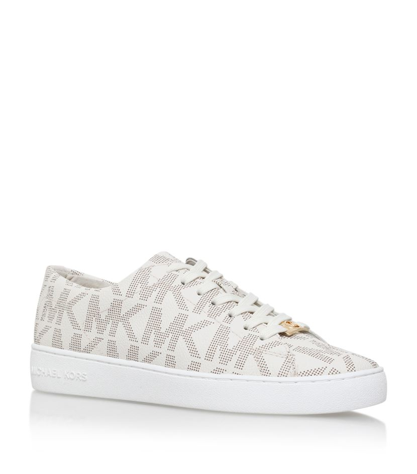 Michael Michael Kors Keaton Sneakers In White Lyst
