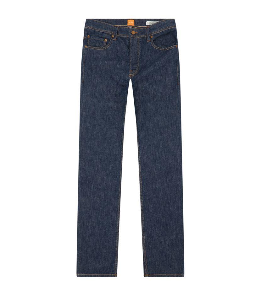 lyst boss orange fit 39 stretch jeans in blue for men. Black Bedroom Furniture Sets. Home Design Ideas