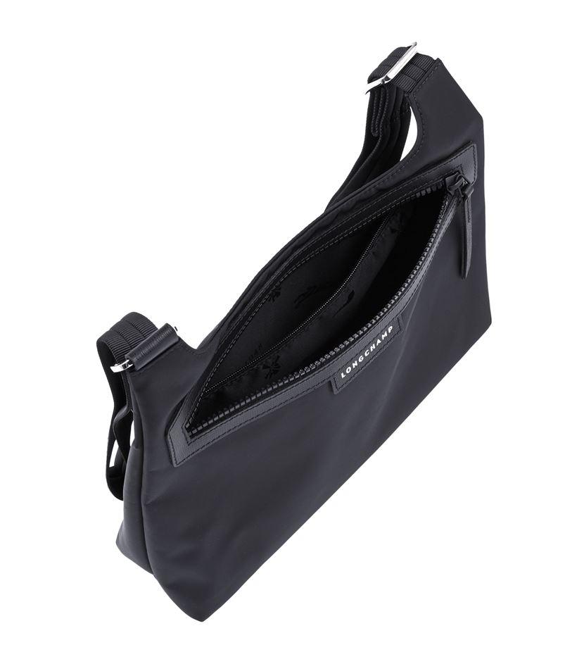 Longchamp Leather Le Pliage Nã©o Cross Body Bag in Black