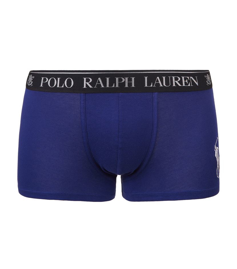 polo ralph lauren logo waistband boxer briefs in blue for. Black Bedroom Furniture Sets. Home Design Ideas