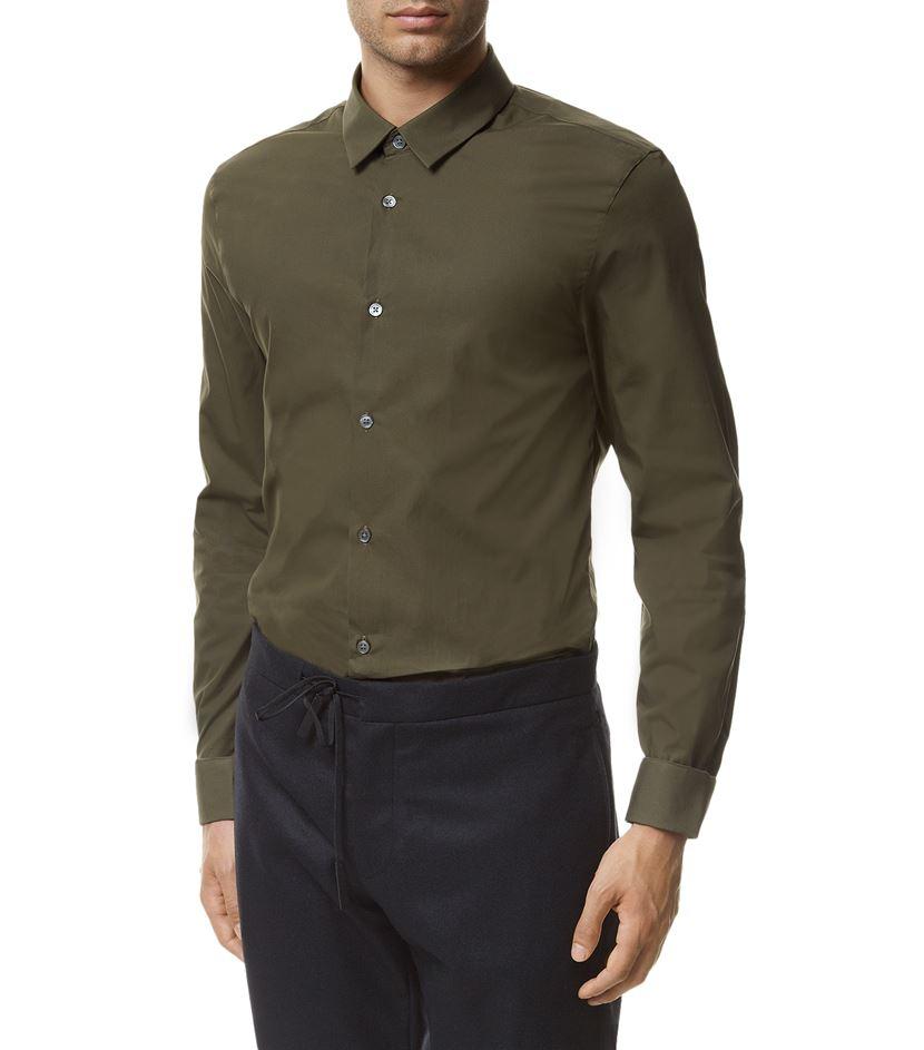 Acne Studios Cotton Formal Shirt in Green for Men