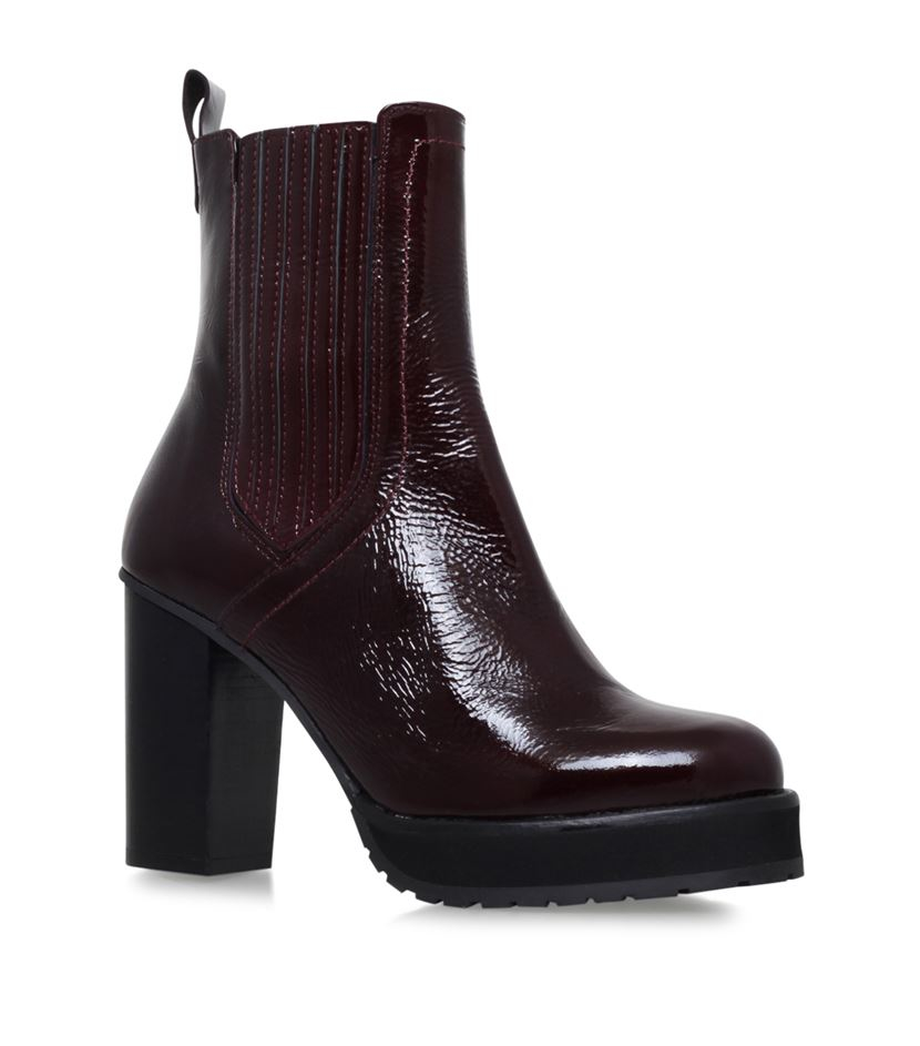 kg by kurt geiger ankle boots lyst
