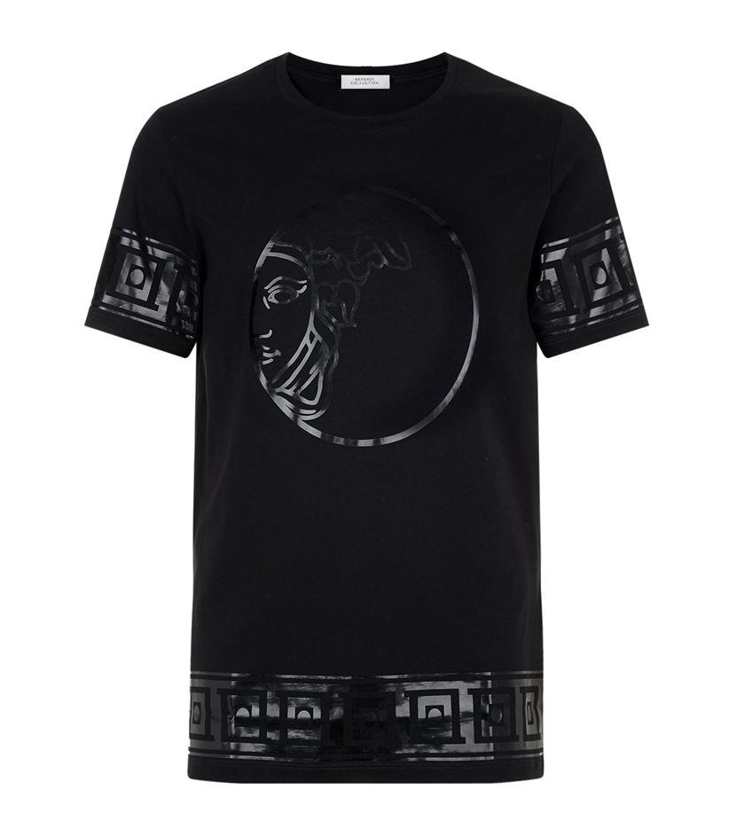 Versace Medusa Head T-shirt in Black for Men | Lyst